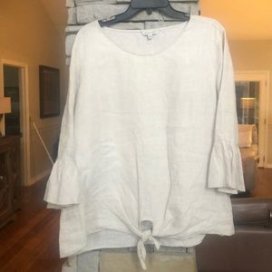 Women's linen John Mark blouse